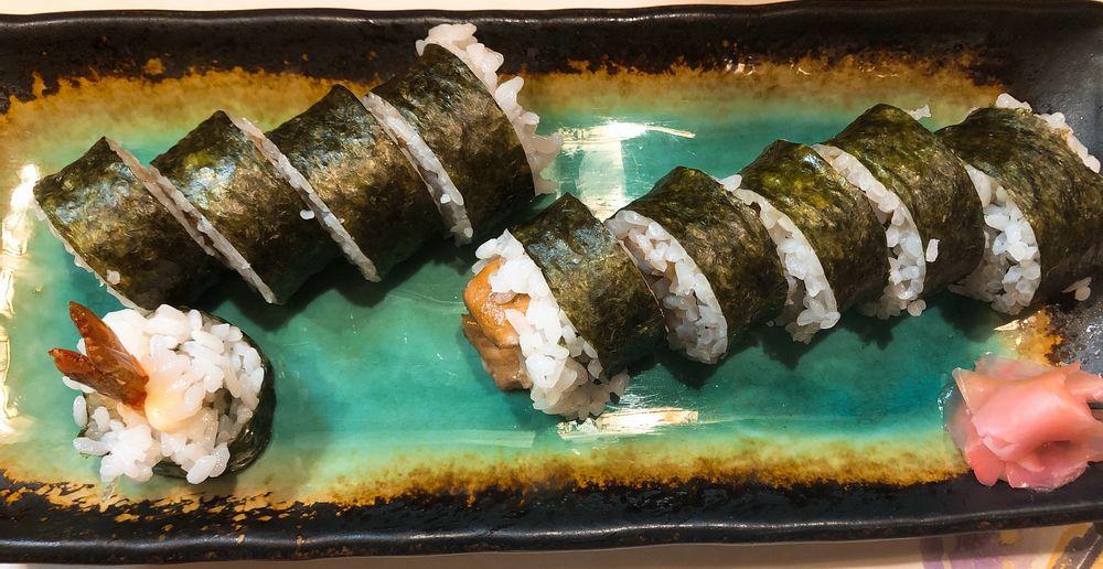 海外の巻き寿司